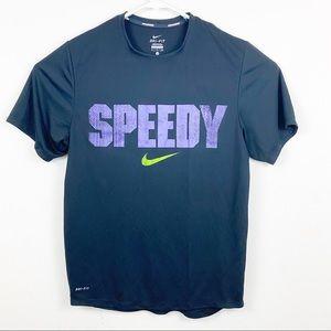 Nike Dri-Fit Speedy Running shirt Size Small